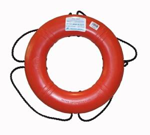 Dock Edge + Inc. USCGA Approved Life Ring Buoy by Dock Edge