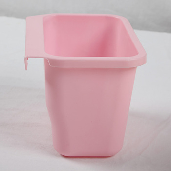 Fixed Good Quality Plastic kitchen Cupboard Door Wall mounted hanging waste bin for food waste