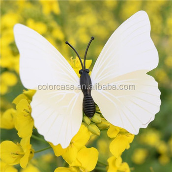 Colorcasa Pure White 3d Butterfly Wall Decal Home Decor Furniture ...