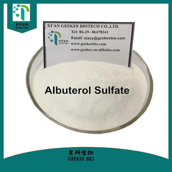 2017 Salbutamol sulfate / Albuterol Sulfate Raw Steroid Powder For Bronchial Asthma / Emphysema
