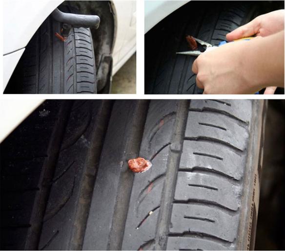 Car Plug Tubeless Strip Tire Seal Puncture Tool Tire Repair Tools