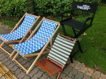 Sedia A Sdraio Tessuto : Tela pieghevole sedia a sdraio in legno buy pieghevole di legno