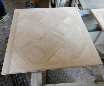 Wit Eiken Parket : Versailles ruwe onvoltooide wit eiken massief houten parket buy