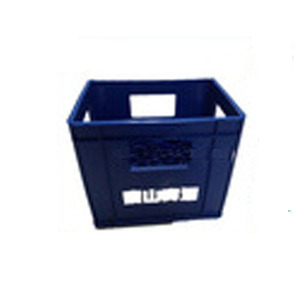 Vented plastic wine beverage beer bottle crates