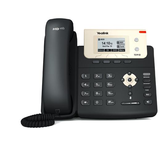 Faible Coût 2 Lignes SIP VoIP Téléphone IP Yealink SIP-T21 E2