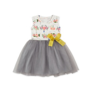0275ef28190e New design multi color customized summer baby girls tulle dresses