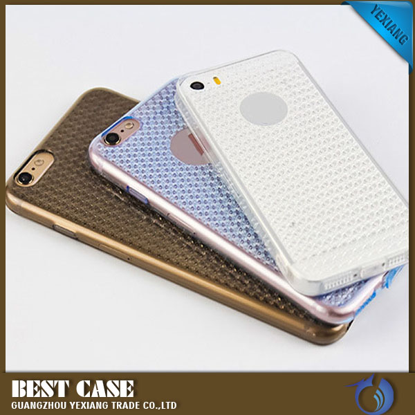 New bling diamond cellphone case ultra thin tpu back cover for xiaomi mi4s cheap price