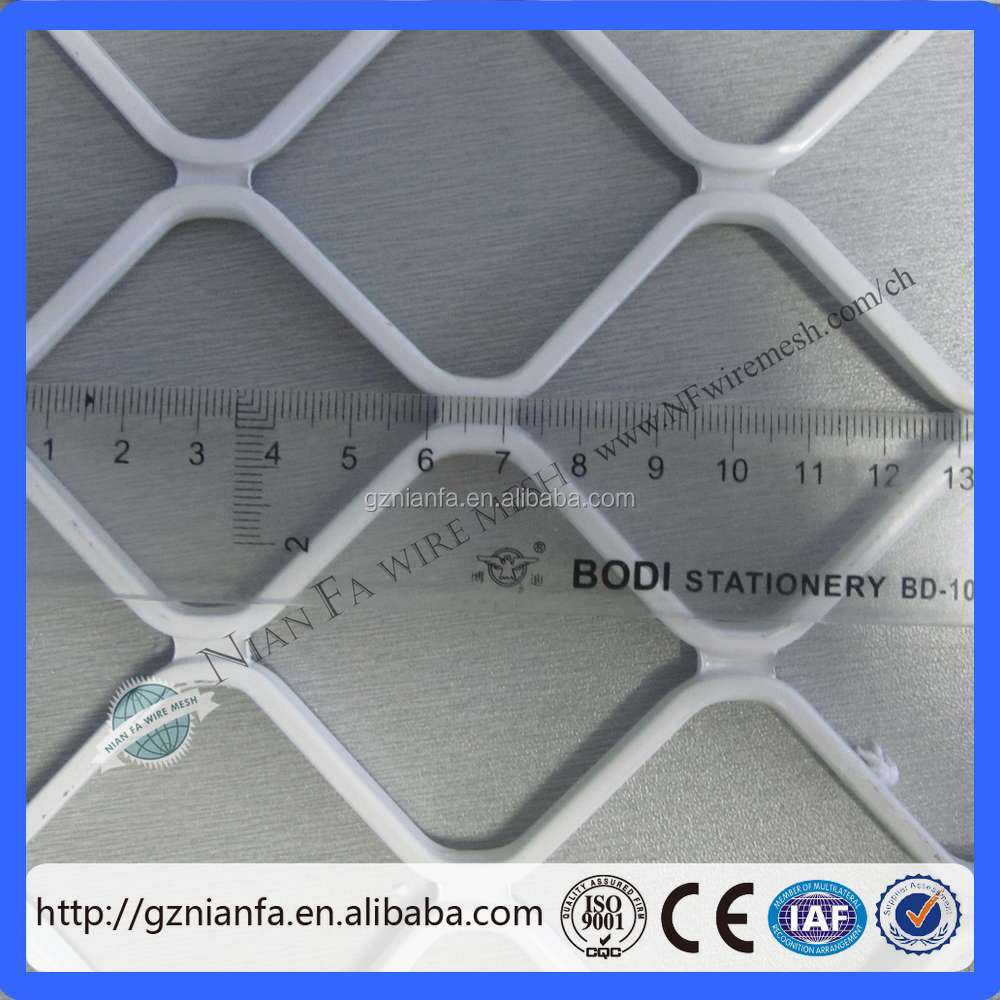 2018 Year 7mm Thickness Aluminium Grille Screen Mesh/ Aluminum Diamond Grille