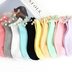 8 Colors.Hot Sale Women's Cotton Lovely Candy Color Imitation Pearl Socks.Casual Ladies Girl's Short Socks Sox Hosiery