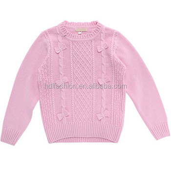 Knitting Pattern Cotton Sweater Baby Girl Clothes - Buy Baby Girl ...