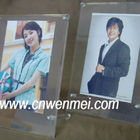 Tabletop acrylic magnetic picture holder, photo frames
