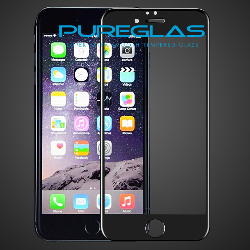 High-end 9 H 3d curved screen mobile phones in screen protector for iphone 6