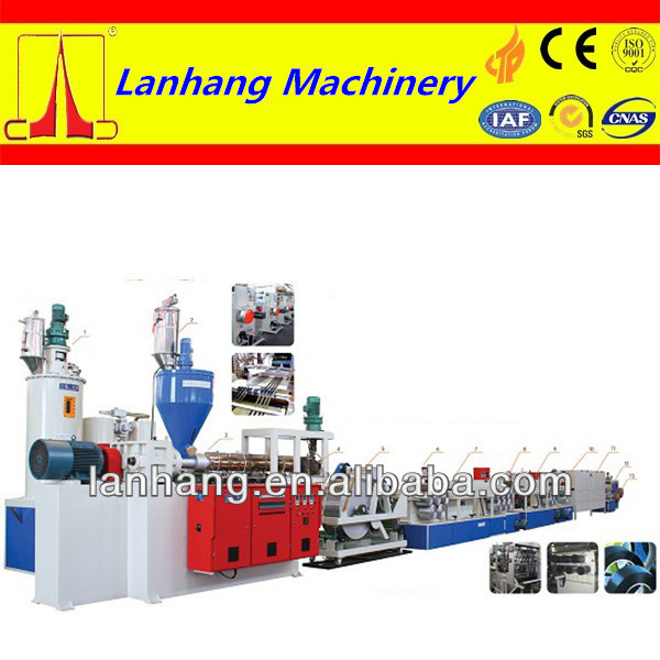 high productivity and best seller PET one strap extrusion production line