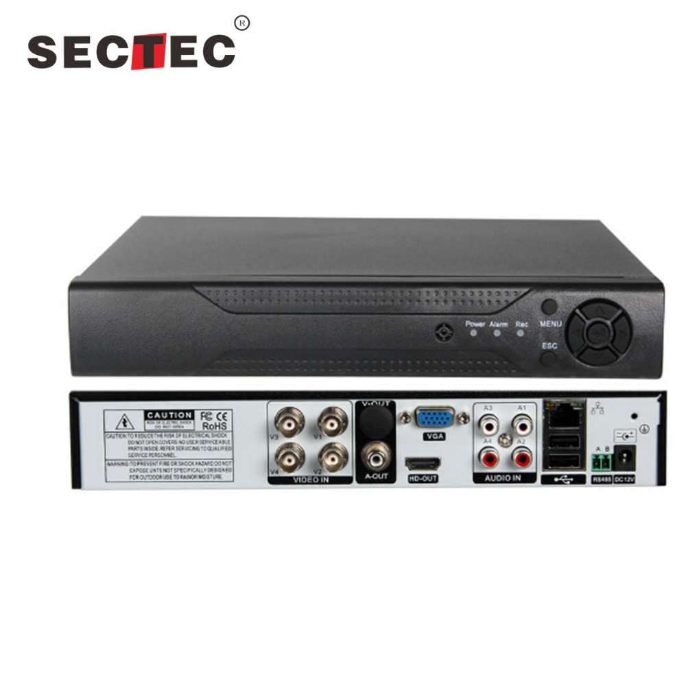 HD AHD DVR 1CH 720P Real Time or 4CH Non-real Time Playback H 264 AHD DVR