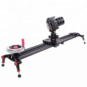 Kernel 120CM Light Carbon Fiber Rails Adjustable Legs DSLR Camera/Camcorder Stabilization Track slider