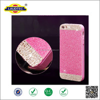 Sparking Crystal Soft TPU Gel case for iphone5/5s