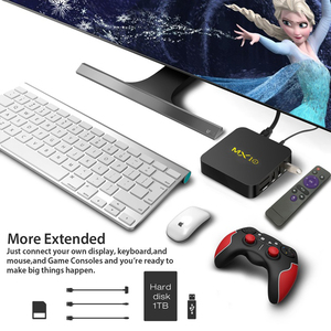 Free movie Smart tv box Android 7.1 digital tv converter 4k tv box with youtube, netflix, facebook, twitter and web brower