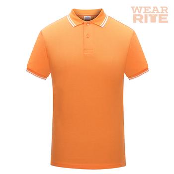 Orange silk screen print logo polo t shirt buy print for Screen printing polo shirts