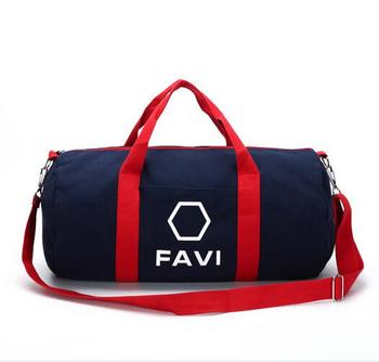 11348889b69fcd Fashion Custom Sports Gym Duffel Luggage Tourist Holdall Mens Travel Bag