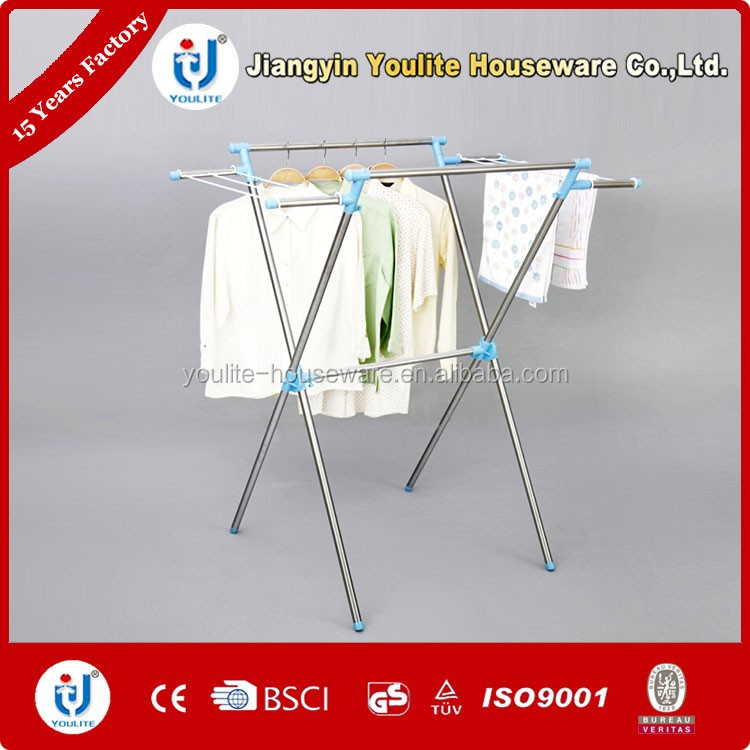 clothes hanger and free standing towel rack