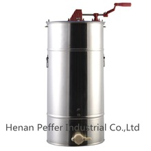 Peffer 2 Frame Stainless Steel Bee Honey Extractor /manual honey extractor