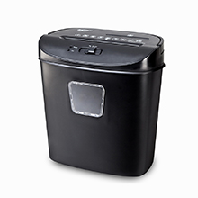 office home used 5 sheets strip cut paper shredder