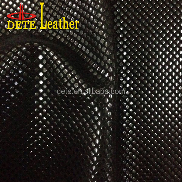 hot selling high glossy flocking leather mexico south america cuadrl leather pu flocking leather