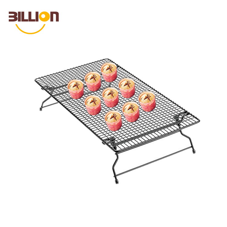 Hand-made metal craft cakes and cookies baking and cooling rack