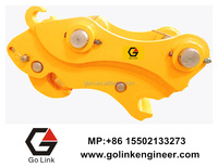 hydraulic excavator bucket quick coupler for excavator
