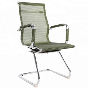Colour Mesh Office Chair with Armrest Morden Luxury Executive Office Chairs Middle Back Meeting Room Chair