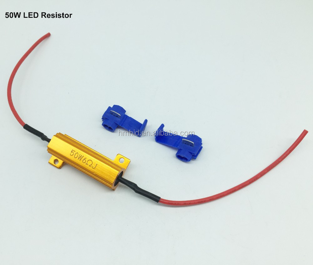 Good Quality 12v 14v 25w 50w 6ohm Led Resistor Warning Canceller For H11 Fog Light Lamp Load Wiring Hid 479311592418787900 707550529216808480