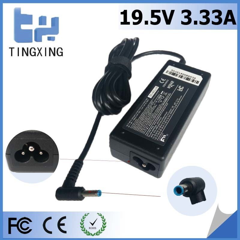 China factory cheap Laptop Adapter Tingxing brand for hp 19.5V3.33A65W Notebook charger 4.5*3.0MM