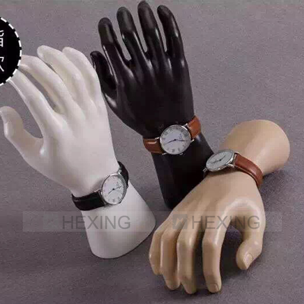 Wrist Watch Display Male Hand Torso Cheap Plastic Mannequin