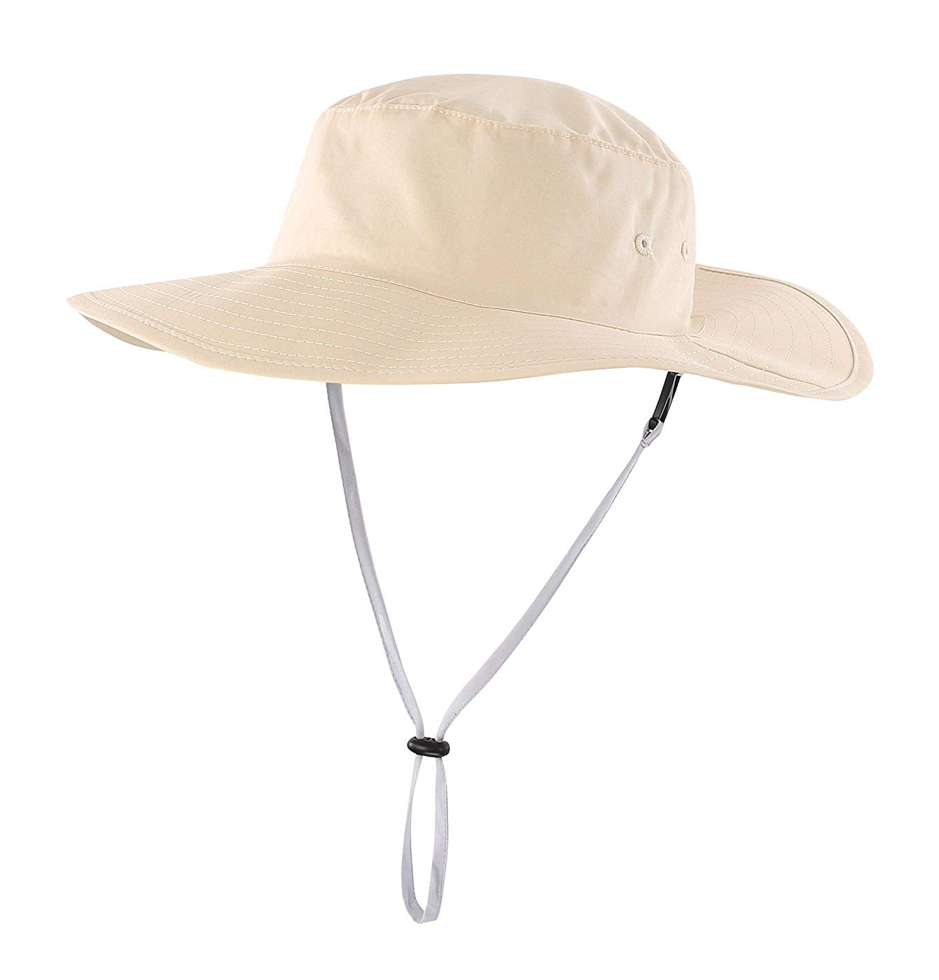 37d642ee3d789 Get Quotations · Home Prefer Kids Cool Cotton Bucket Hat UPF50+ Wide Brim Sun  Protection Play Hat