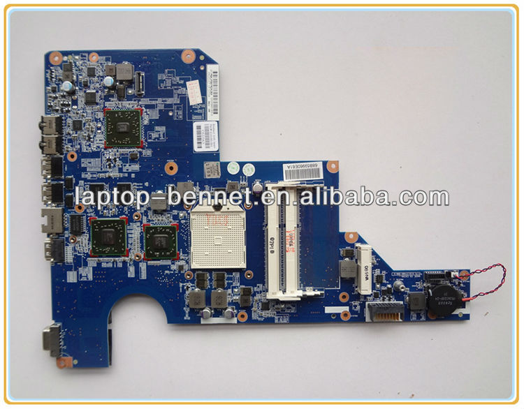 laptop motherboard for HP Compaq G62 CQ62 AMD 597673-001