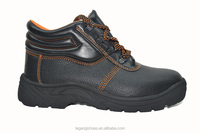LG-6649 PU upper rubber outsole cheap safety shoes