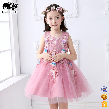 d9ac36e79 Baby girl cotton clothing birthday party dress evening pakistani party dress  L561