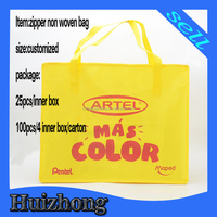 Best quality new coming pp nonwoven laundry bag with zipper