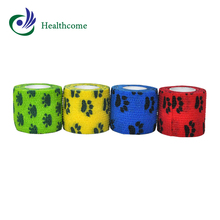 Medical and healthcare cohesive products latex elastic adhesive bandage