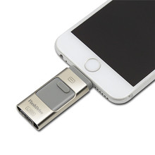 Usb Flash Drive For iphone ipad Pendrive OTG 8gb 16gb 32gb 64gb Pen drive HD external storage memory stick New