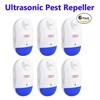 6PCS Pack Electronic Ultrasonic Pest Repeller with LED Night Light