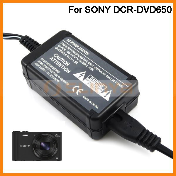 DCR-HC33E DCR-HC35E Handycam Camcorder DCR-HC32E AC Power Adapter Charger for Sony DCR-HC30E