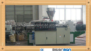 PVC plastic pipe production line/PVC Pipe machinery/equipment