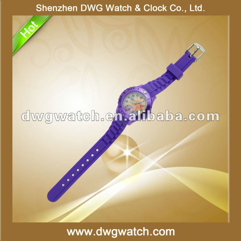 Fashion Rotating Dial Watch with Small Band DWG--R0126-1