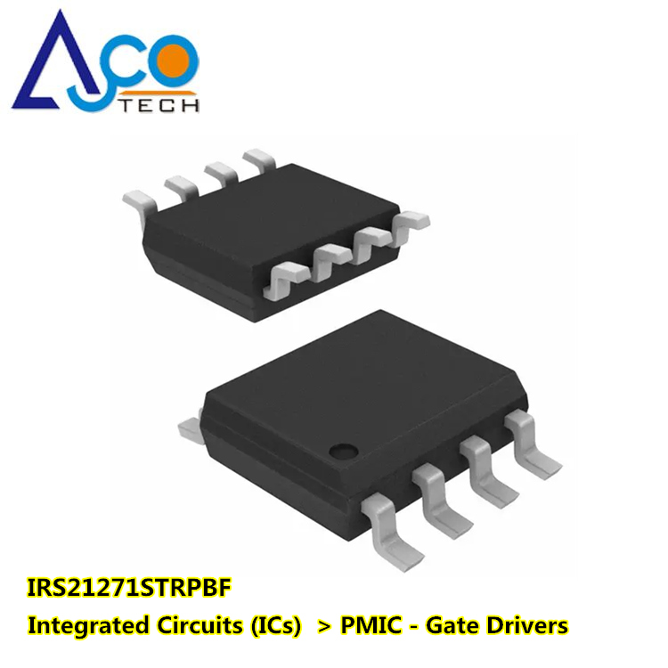 High-Side Gate IRS21271STRPBF Integrated Circuits (ICs) PMIC - Gate Driver IC