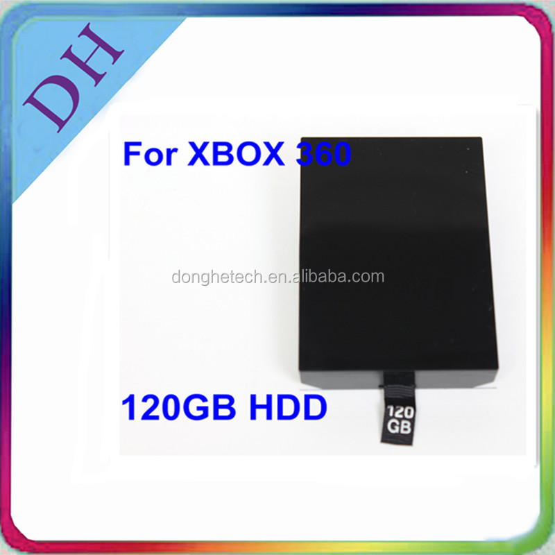 High Quality 120gb HDD Hard Driver for Xbox360 Slim game console