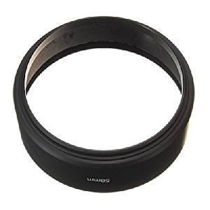 58mm Standard Screw Mount Metal Lens Hood For Canon Nikon Sony Pentax