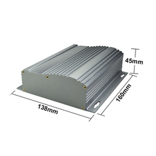 shenzhen power distribution box aluminum project box enclosure case