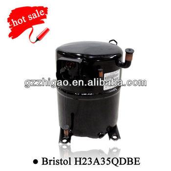 Bristol Piston 220v R22 Compressor H23a35qdbe Refrigerant
