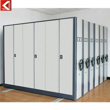 Office Cupboard High Quality Mobile Shelving Cabinet Compact Shelves Mobile  Racking System With Low Price